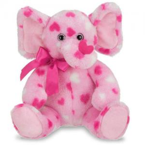 Custom Made Plush Toy Plush Valentine Elephant