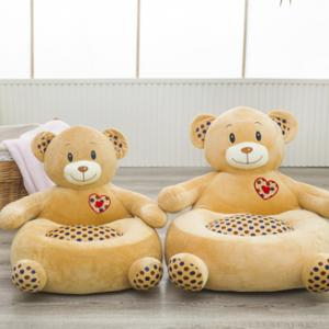Plush bear baby sofa Chair Seat