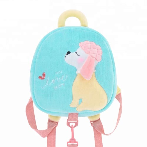 New type small toddler kids cute plush school backpack bag