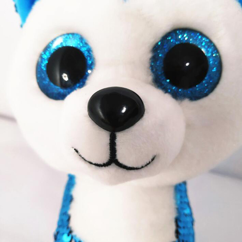 BlingBling customize plush stuffed sequin animal toy