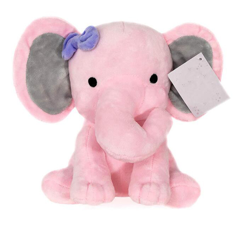 comfort plush toy Bedtime Originals Plush Toy pink elephant