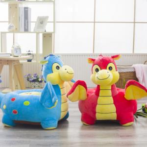 lush toy chair soft dinosaur sofa