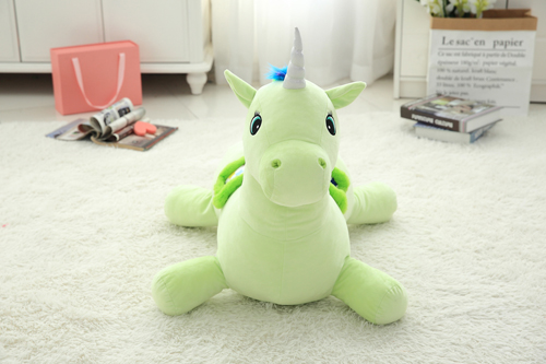 plush unicorn sofa for baby use