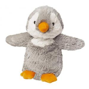 Heatable microwavable soft penguin toy