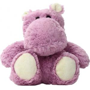 Microwavable Stuffed Hippo Toy
