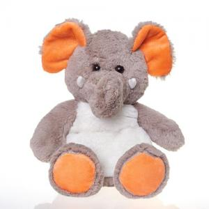 25CM Soft Stuffed Microwavable Elephant Animals Heat Plush Toy
