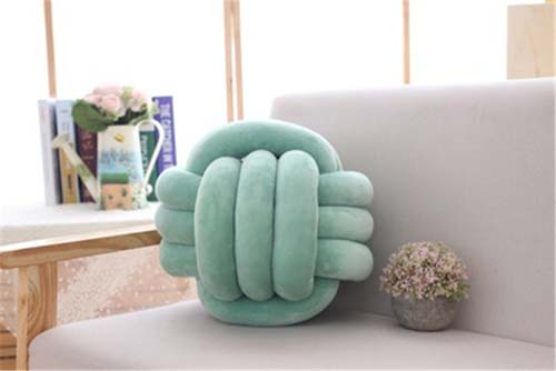 Home Decoration soft Knot Cushion Pillow