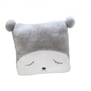 Custom plush cushion home pillow cute case