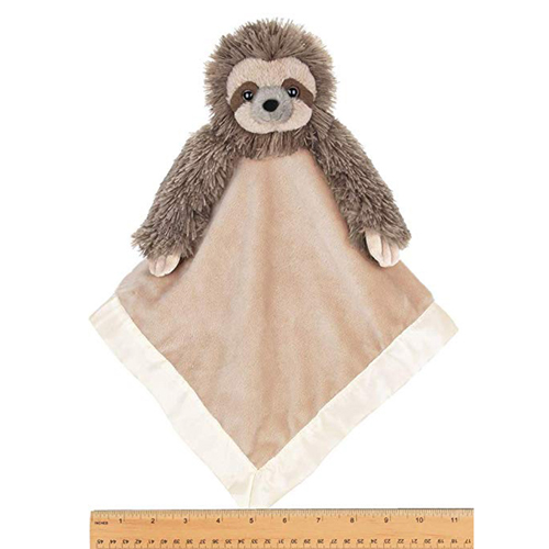 Infant sloth Towel Toys stuffed baby blanket toy
