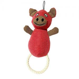 plush squeaky pet dog toys