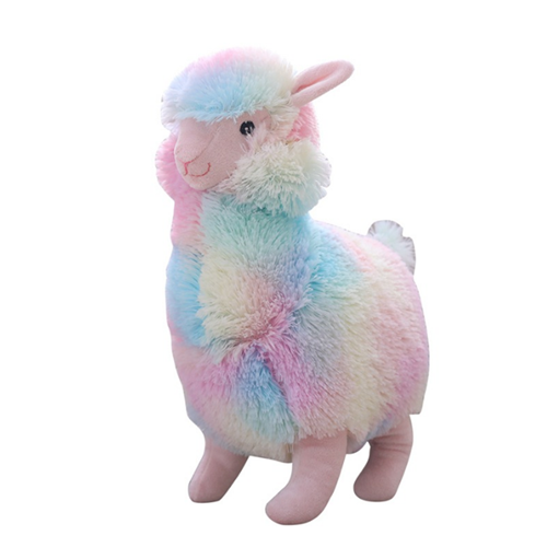 colourful plush toy llama stuffed alpaca plush soft toy