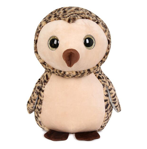 Big eyes soft stuffed cute plush toys for baby gifts