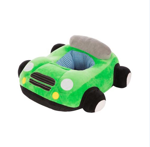 Novel Cartoon Car Baby Sofa Seat Plush Toy