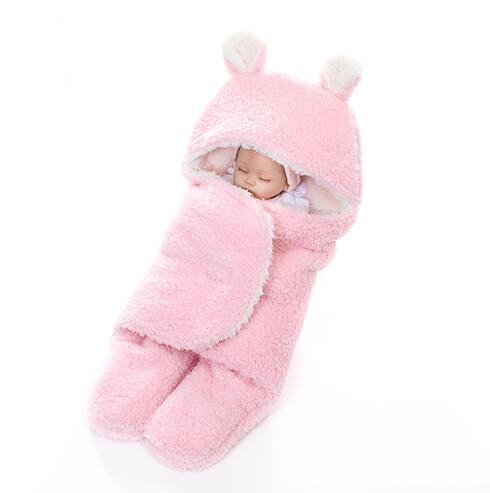 100% Polyester Microfiber Printed Fleece Knitted Wholesale New Born Wearable Swaddle Baby Blanket