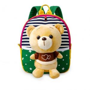 Hot Sale Popular Plush Kindergarten Cute School Bag Animal Cartoon Backpack for Kids  - 副本