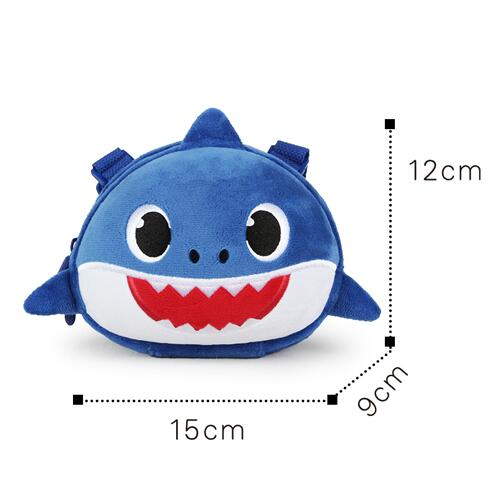 mini single custom shoulder bag, 3d girls small ladies sling bag, mini shoulder messenger baby shark Crossbody bag