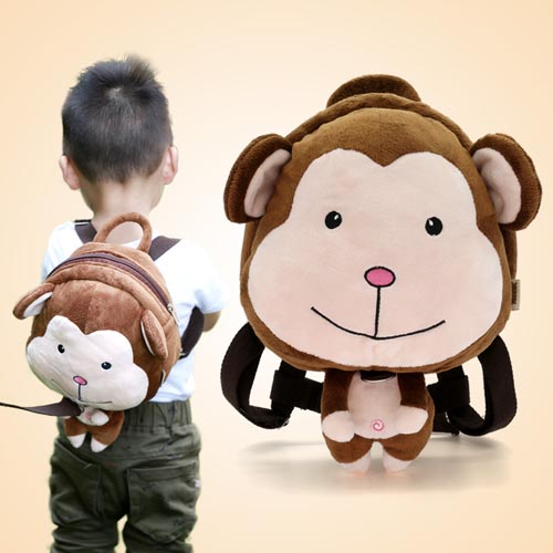 Wholesale fashion cartoon dinosaur design animal 3d kids zoo kindergarten School animal backpack
