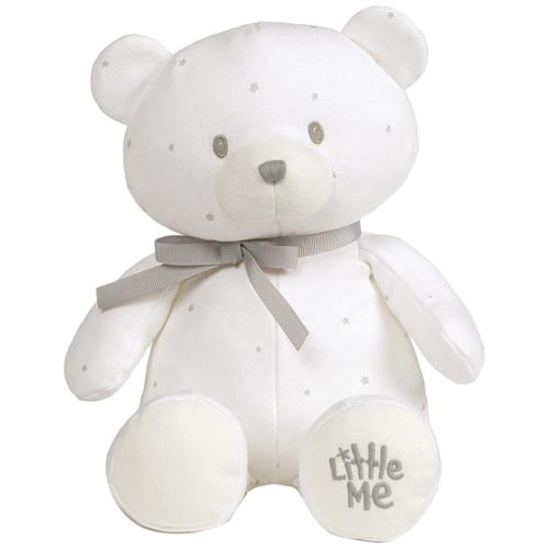 Custom white teddy bear safe pp cotton stuffing toy