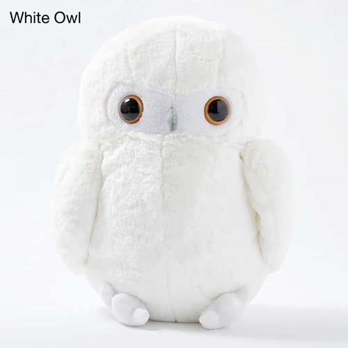 Round Stuffed Owl Plush Toy