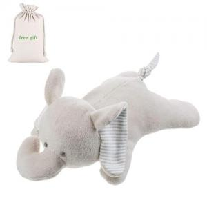 Customized Stuffed Animal Toys For Infant Baby Organic Cotton Elephant Plush