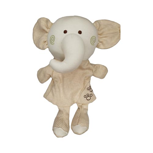 New Education Baby Toy Organic Cotton Stuffed Animal Hand Puppets Toy for Kids