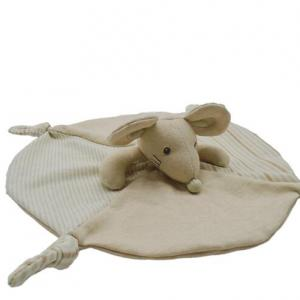 organic cotton mouse doudou toy