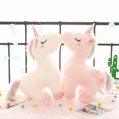 Big Size Plush Gift Stuffed Animal Unicorn Toy For Kid