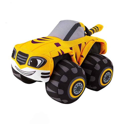 Monster Machines Stripes Vehicle Plush Toys For Car