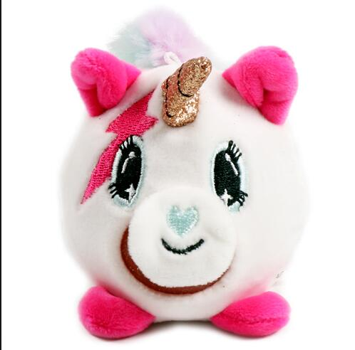 Factory Direct tpr anti stress ball promotional gifts unicorn plush ball surprise ball