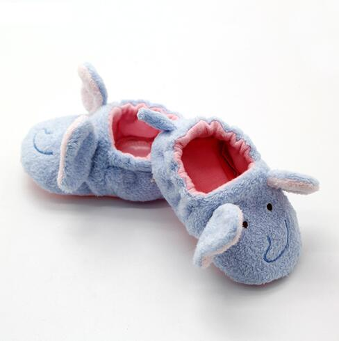 Custom Kids Soft Sole Baby Cute Elephant Shoes