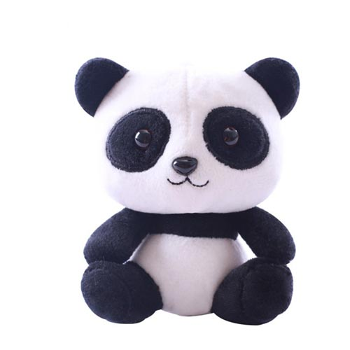 Promotion Of Cute Plush Animal Key Chain Panda Key Chain Custom Plush Panda Toys
