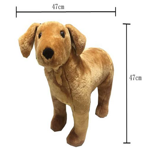 Hot sale newest cheap fashion lifelike gold dog stuffed plush toys