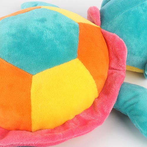 2020 High Quality Comfort Sea Animal Plush Toy Big Eye Colorful Turtle Doll Baby Sleeping Soft Toys