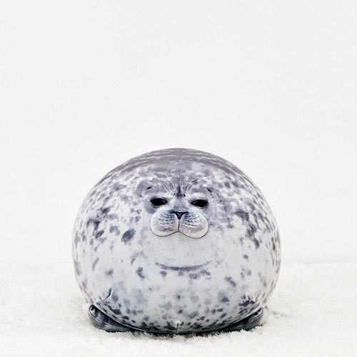 2020 Cute Sea Lion Plush Toys 3D Novelty Soft Stuffed Plush Seal Pillow