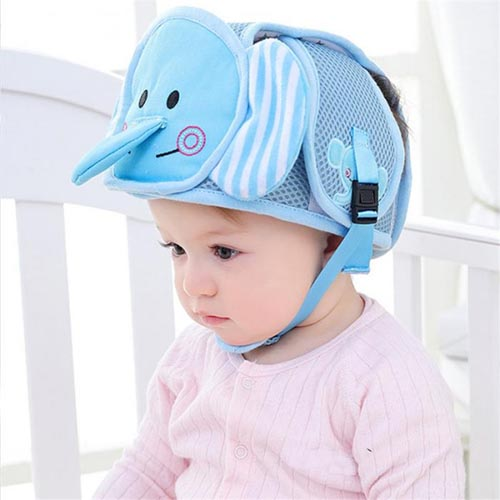 Anti-collision safety protection Baby Hat, protective safety bucket baby head Cap, infant shower safety baby Hat for babies