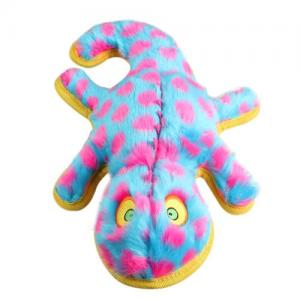 New Design Aggresive Chewing Toy Animal Dinosaur Shape Plush Squeeze Toy for Pet Dog