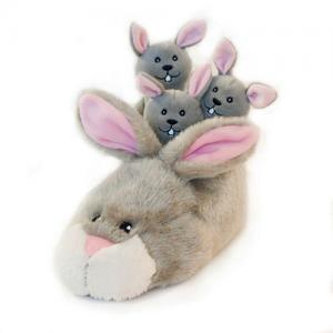 Custom Hide and Seek Slipper Nest Squeaky Plush Dog Toy