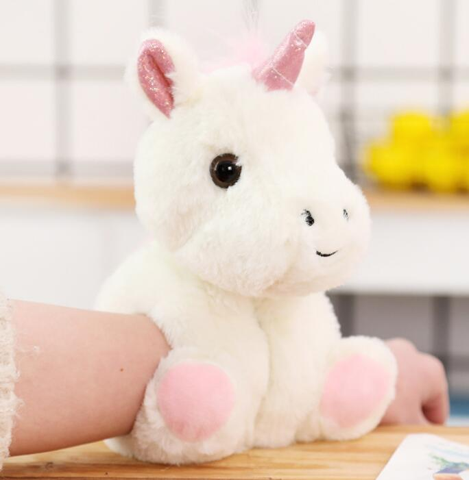 Creative toy animal bracelet plush toy snap ring