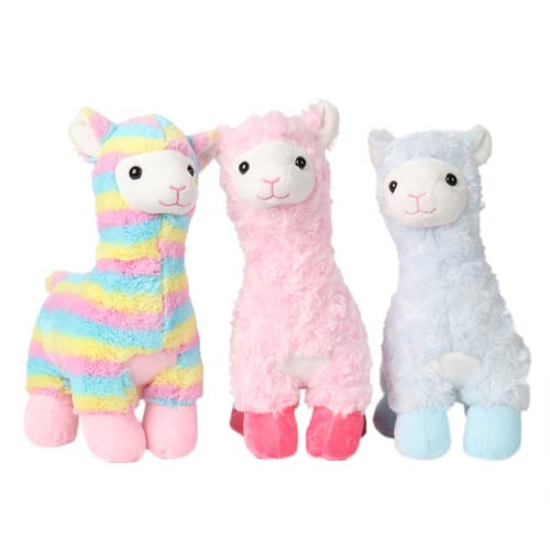 Cute Soft Llama Alpaca Plush Toy Custom Lovely Stuffed Plush Animal