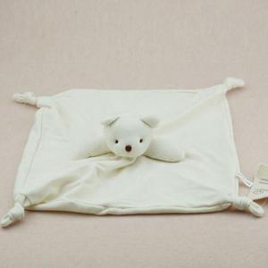 Organic Cotton baby bear Stuffed Plush Doudou