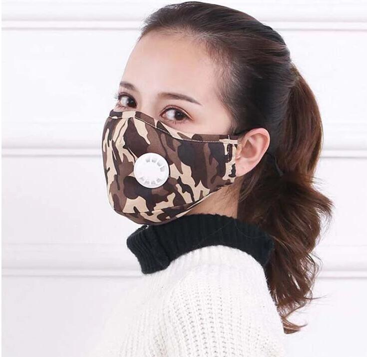hot sale folded cotton face mask anti pollution mouth mask half face mask